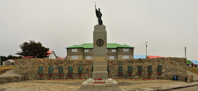 Stanley on the Falkland Islands