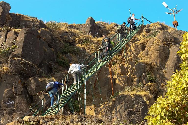 Kalsubai ladder
