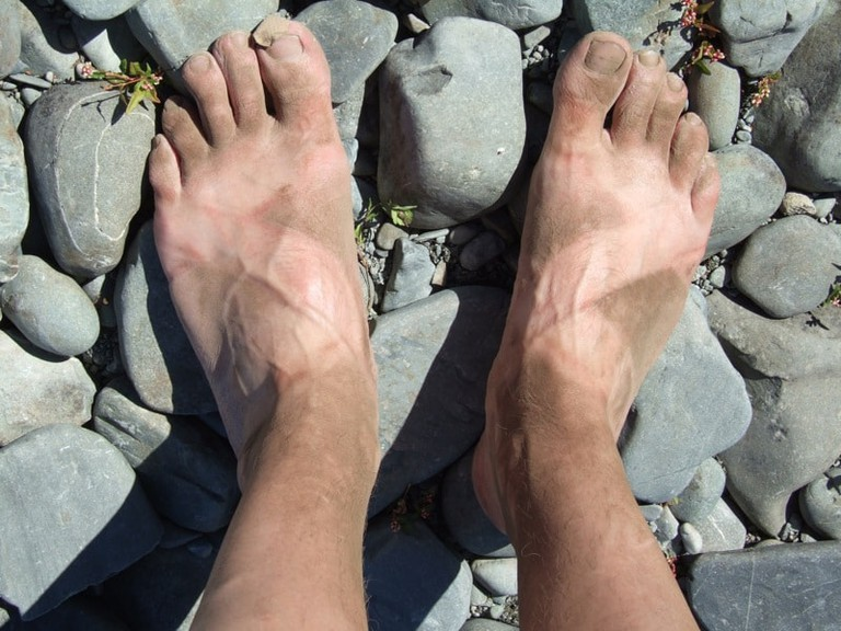 Kiwi Hobbit Feet