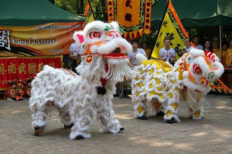 Lion Dance Hong Kong