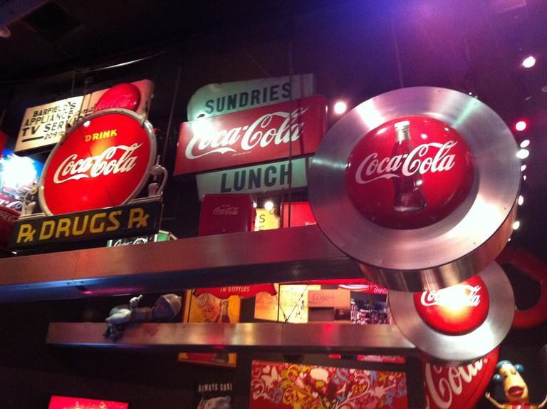Loft at World of Coke:Atlanta