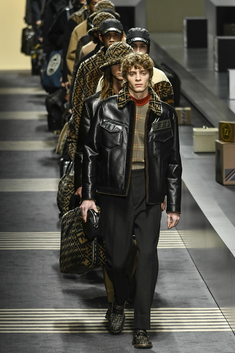 Fendi runway, Milan Fashion Week (Men's Autumn/Winter 2018) | Rexfeatures/Riccardo Giordano