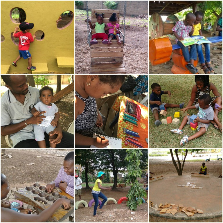 Mmofra is a platform for enriching the cultural and intellectual abilities of children