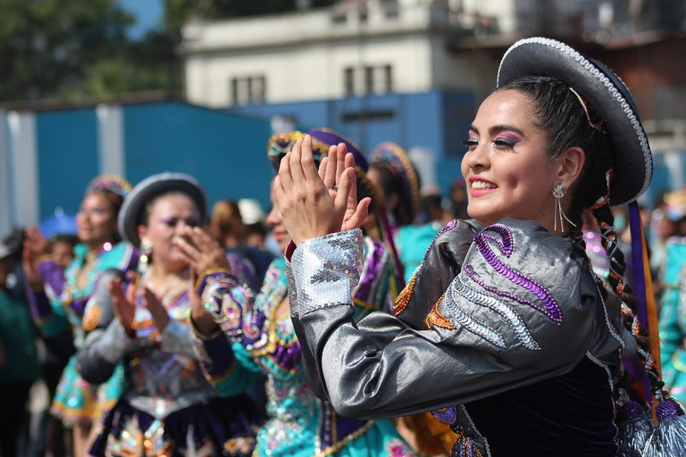 Dancers in Lima