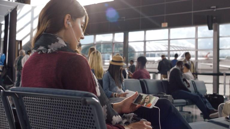 Netflix airport