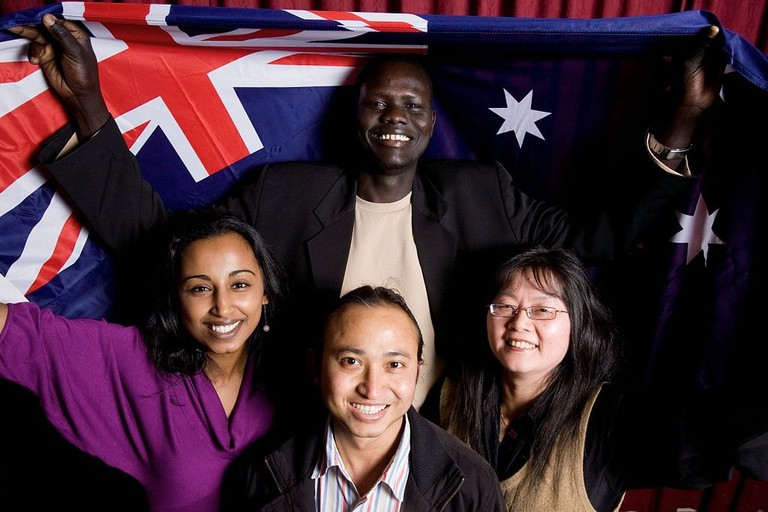 New Australian citizens | © DIAC/Wikimedia Commons