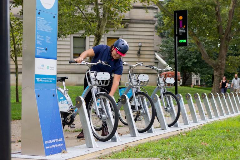 HealthyRide | Courtesy Pittsburgh Bike Share