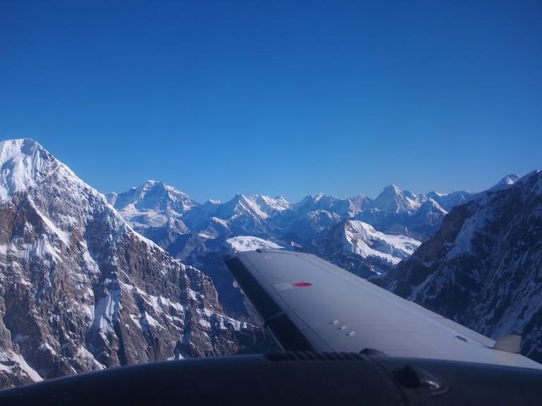 Everest scenic flight