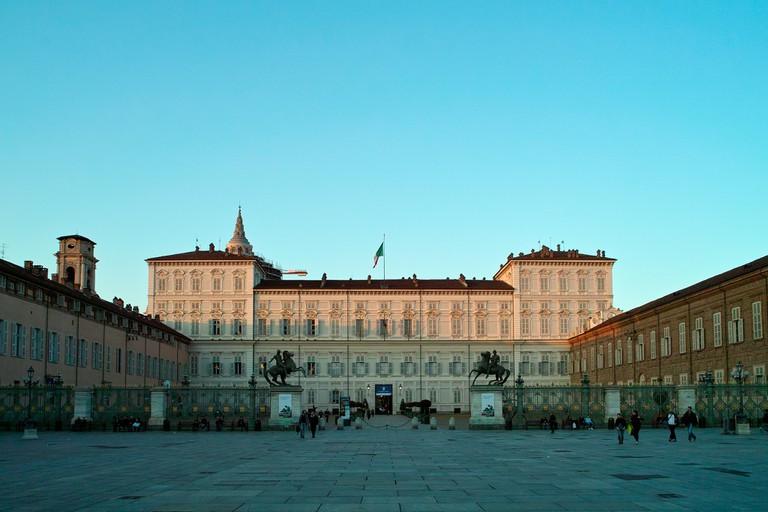 Palazzo Reale on Piazza Castello, Turin | © Flickr/Victoriano Javier Tornel García