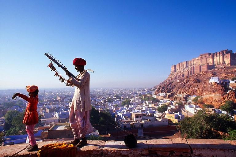 Blue City of Jodhpur, Rajasthan