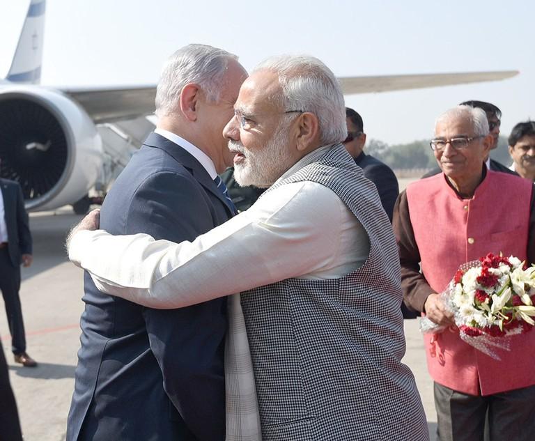 Israeli Prime Minister Benjamin Netanyahu visit to India - 17 Jan 2018