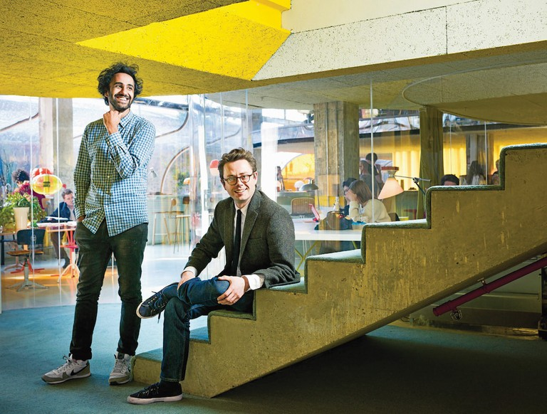 Second Home's co-founders Rohan Silva and Sam Aldenton | © Iwan Baan