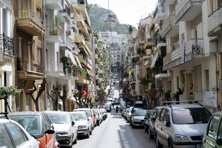 Exarchia Neighbourhood-Athens-Greece
