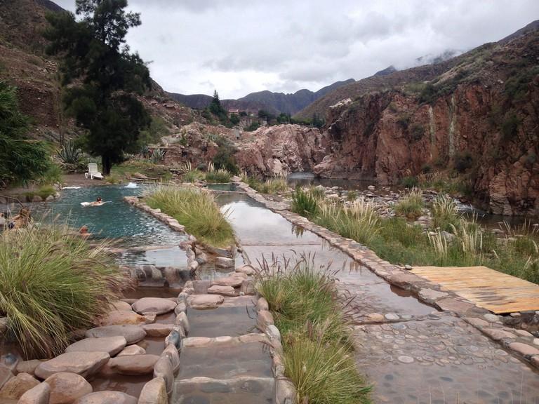 Hot springs in Mendoza