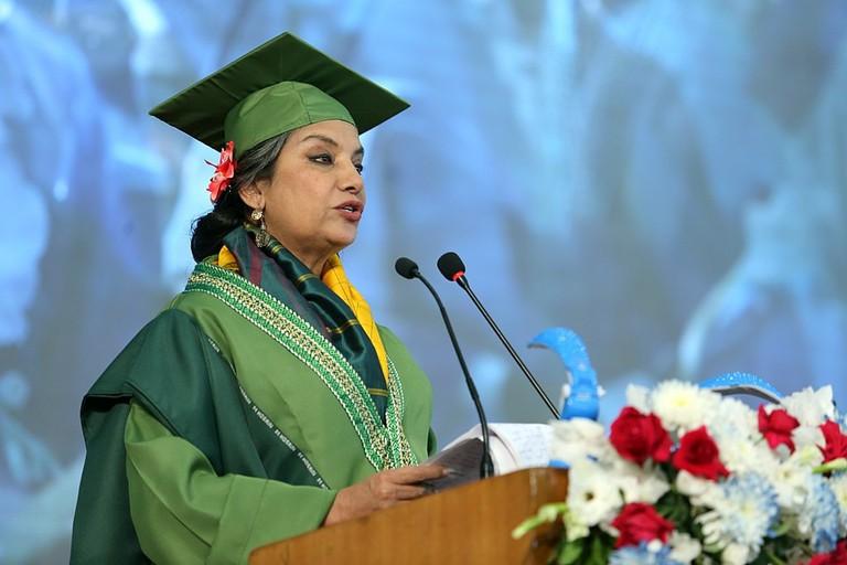Shabana Azmi | Ifthekhar Omer /WikiCommons