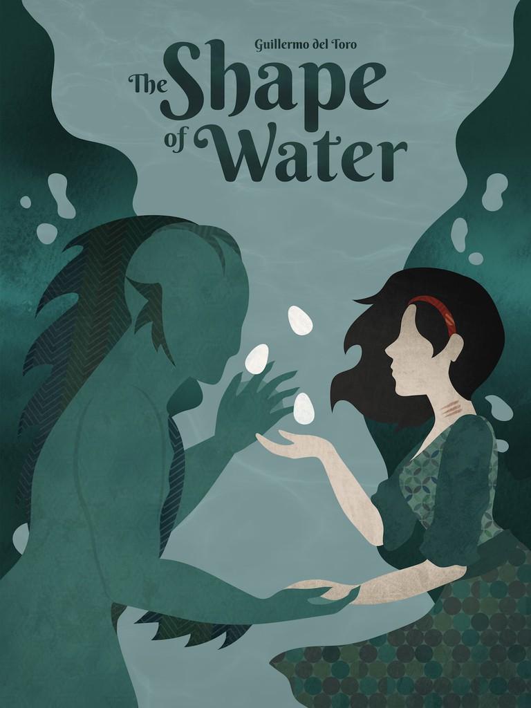 Shape of Water - inspired by Kiki Kogelnik, designed by Kia Delgato:Shutterstock