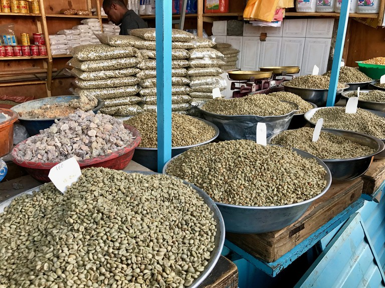 Shola Market in Addis