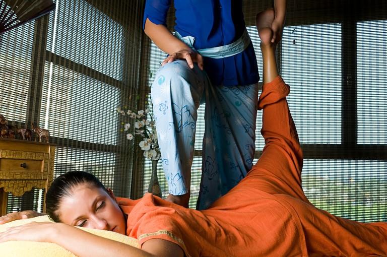 Genuine Thai massage