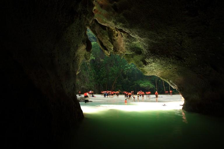 Emerald Cave, Koh Muk, Trang, Thailand