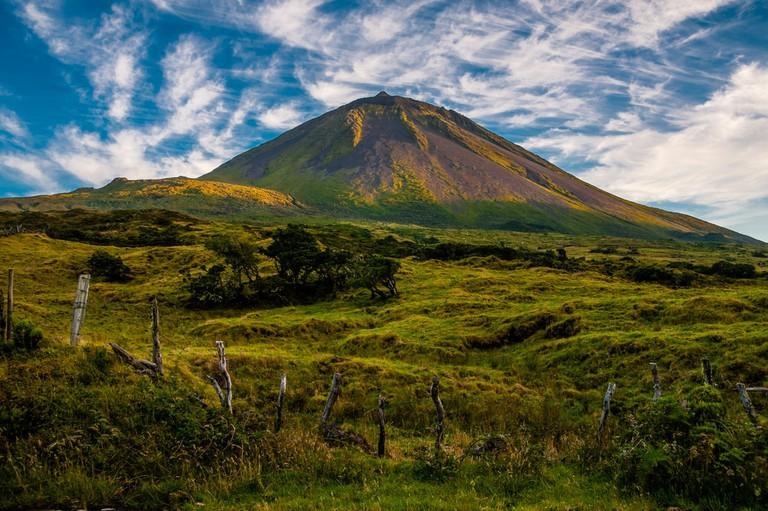 Volcanic Mount Pico on the island of Pico, Azores, Portugal | © Robert van der Schoot/Shutterstock