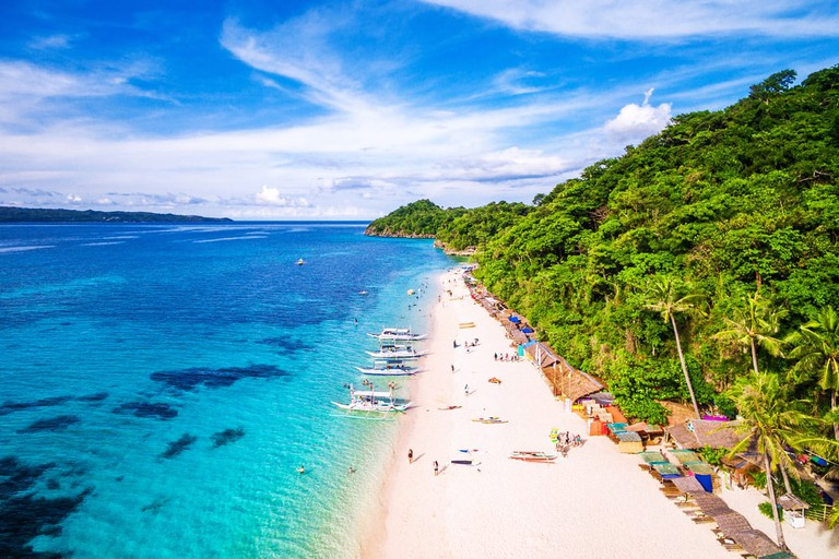 Aerial View of Boracay Island | © R. M. Nunes/Shutterstock