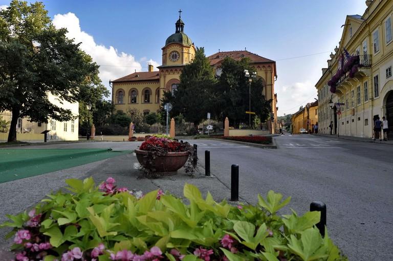 Sremski's delightful main square