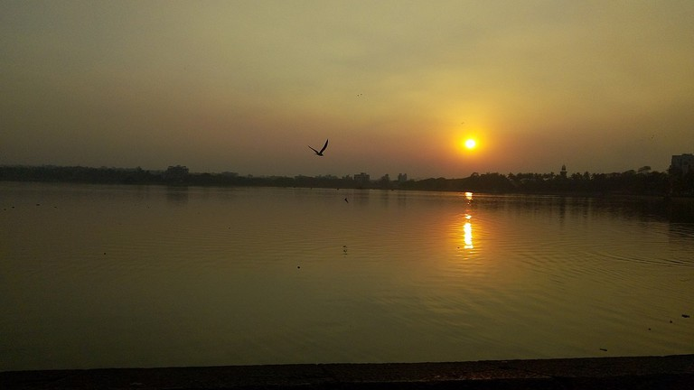 Sunset at Rankala Lake, Kolhapur