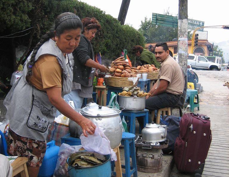 tamal vendors