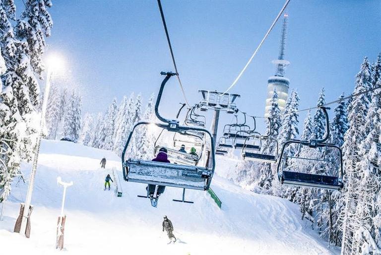 The lifts at Oslo Winter Park | Courtesy of Oslo Vinterpark
