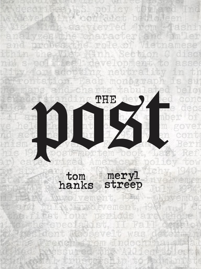 The Post - inspired by Ed Ruscha, designed by Jenny Forrest:Shutterstock