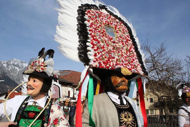 Tyrol Carnival Parade Absam Customs