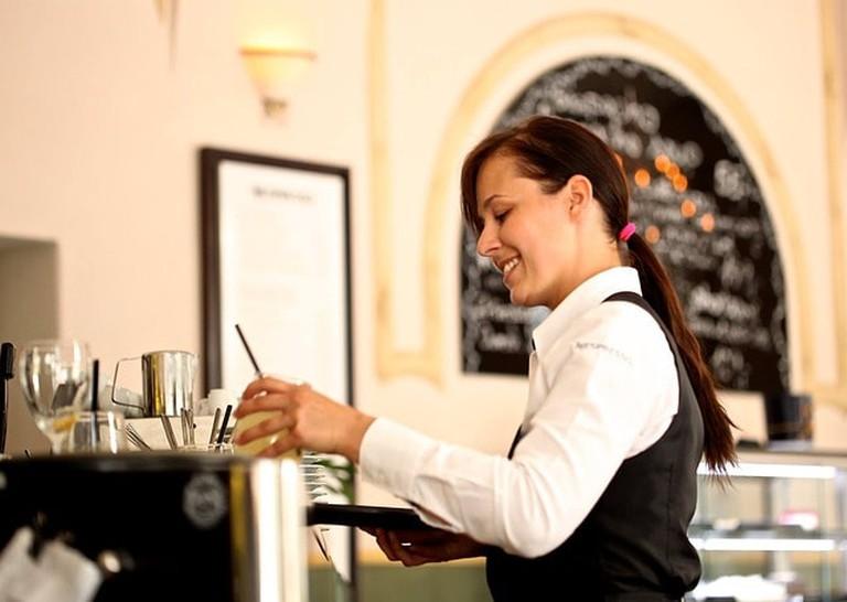 Waiters in Paris