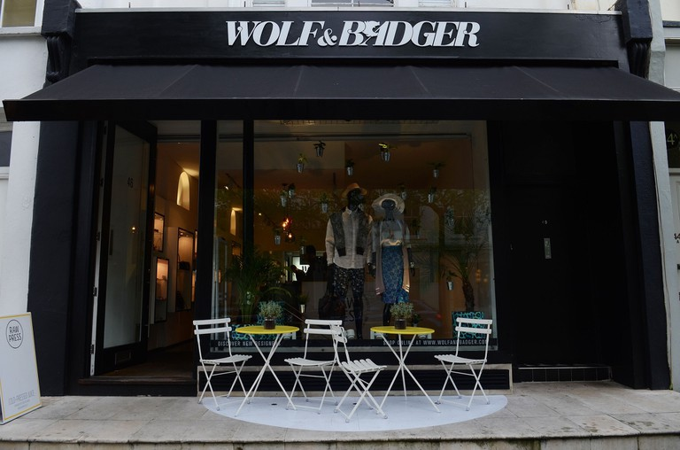Wolf & Badger Notting Hill Store front