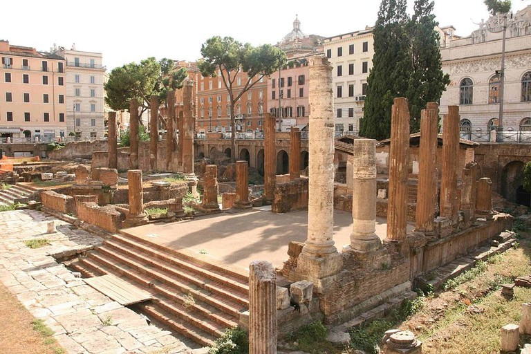 Julius Caesar was assassinated at the Theatre of Pompey in 44BC | © WikiCommons