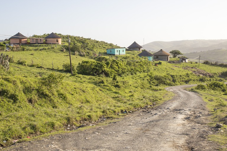 Typical Wild Coast secondary road