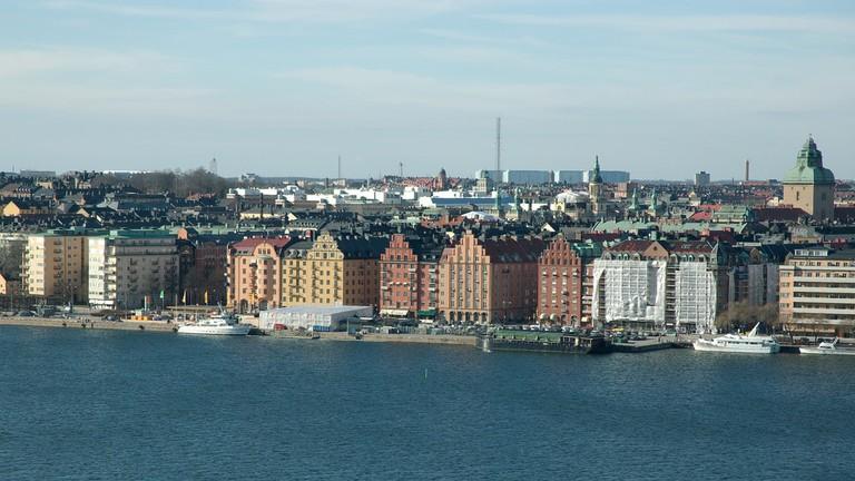 The island of Kungsholmen in Stockholm