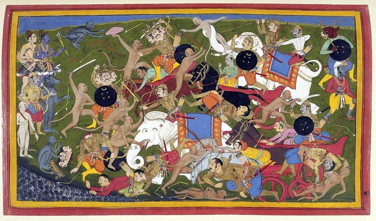 1280px-Battle_at_Lanka,_Ramayana,_Udaipur,_1649-53