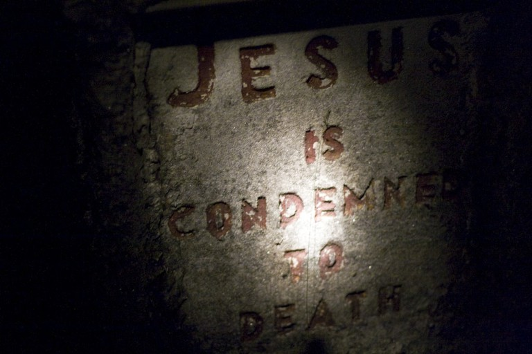 Jesus is condemned