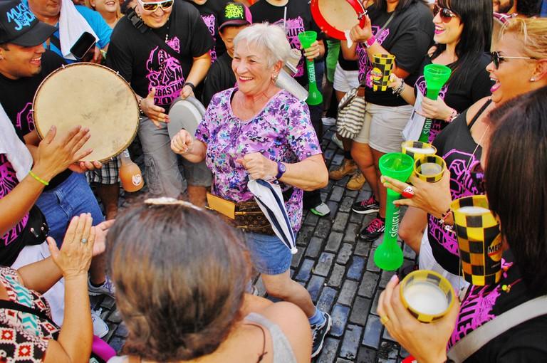 Music and dancing at SanSe