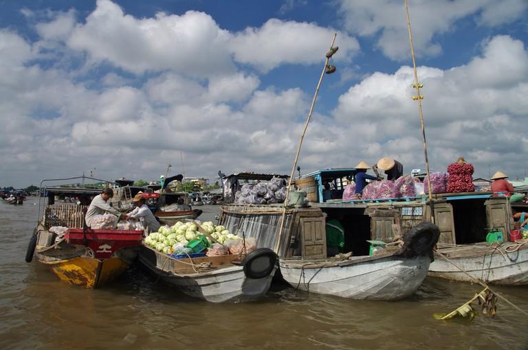 Cai Rang Floating Market   © Jean-Marc Astesana/Flickr