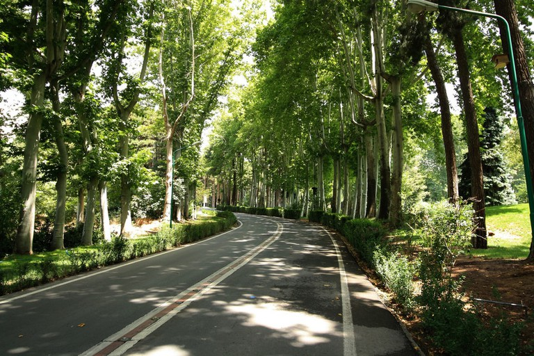 The tree-lined streets of Saad Abad Palace create a nice environment to walk | © Blondinrikard Fröberg / Flickr
