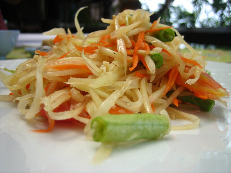 Papaya salad | © Jeremy Keith/Flickr