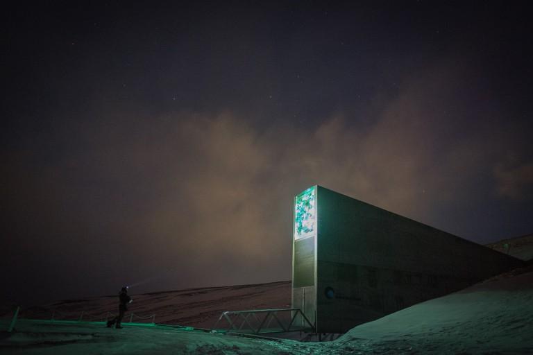 The Svalbard Seed Vault | © Frode Bjorshol/Flickr