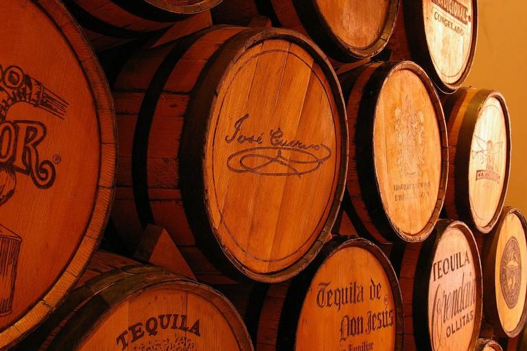Jose Cuervo cellar collection