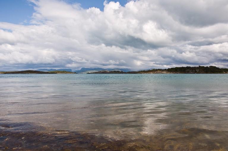 View towards Sandøya