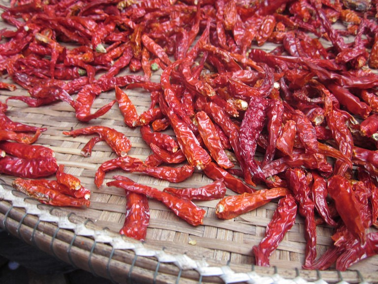 Chillis in Thailand
