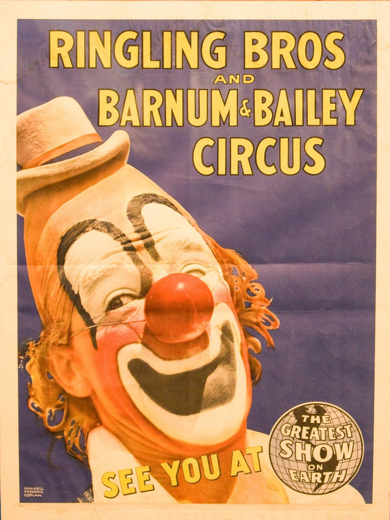 Ringling Bros and Barnum & Bailey Circus Poster | © popo.uw23/flickr