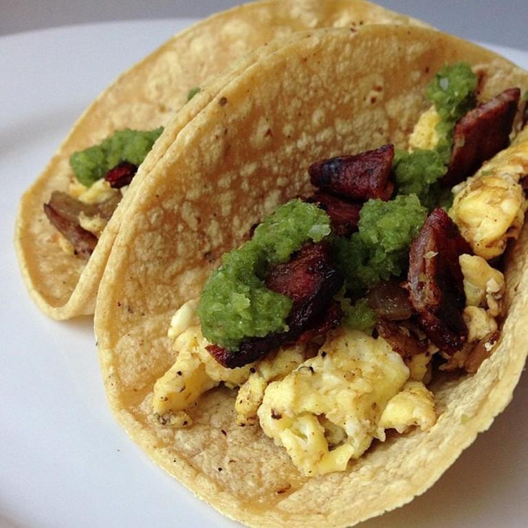 Breakfast Tacos   © Arnold Gatilao/Flickr