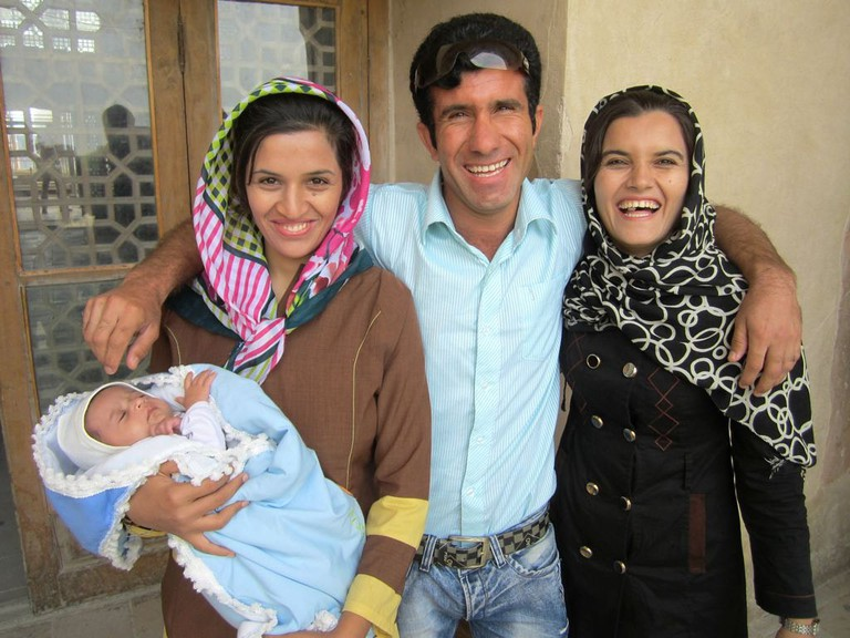 An Iranian family | © David Stanley / Flickr
