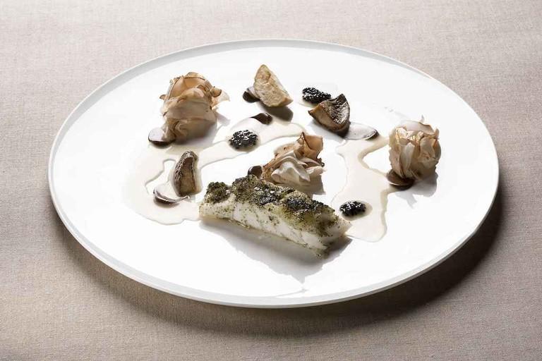 Gourmet fish at Magorabin restaurant, Turin   Courtesy Magorabin